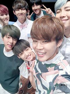 K-Pop trash | BTS: Kim Seokjin (Jin), Min Yoongi (Suga), Jung Hoseok (J-Hope), Kim Namjoon (RapMonster), Park Jimin, Kim Taehyung (V) & Jeon Jungkook.
