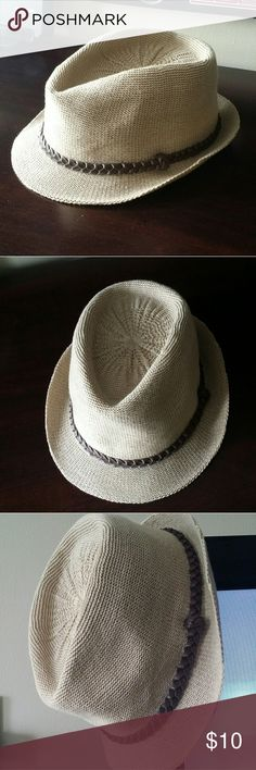 Fedora hat Beautiful Fedora. Used while on vacation. One of my favorites. Has 3 small marks on the inside n 1 or 2 dents. Check out pics to c. Nothing big ,still in good condition. Accessories Hats
