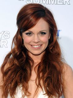 I don't know who Rachel Boston is but I like her hair AND her last name