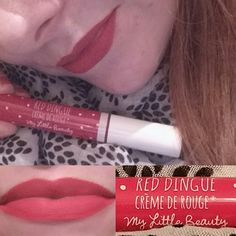 Love this colour  and the scarf!  #mylittleboxuk #mylittlebox #bbloggers #beautybloggers #lips #lipstick #scarf  #subscriptionbox