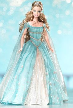 Ethereal Princess Barbie Doll- Beautiful. I love the hair and the dress!