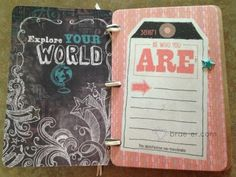 artistic inspiration mini album made from Picture my Life cards- kit will be available beginning August 1st  The Brae-er   Just another WordPress site