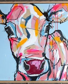 Shop art by Aidan Weichard - 11 paintings for sale at Bluethumb Art Gallery. Animal Years, Gcse Art Sketchbook, Spray Paint On Canvas, Cow Art, Popular Art, Arts Ed, Australian Artists, Portrait Art, Paintings For Sale