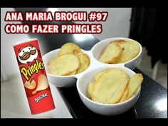Como fazer Pringles
