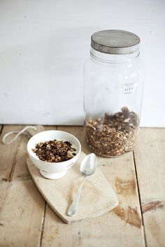 Breakfast with Homemade Granola ..., via Flickr.