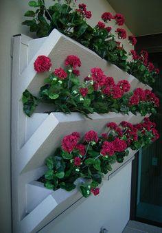 Vertical Garden Planters... http://www.goverhorticulture.com/vertical-garden.html