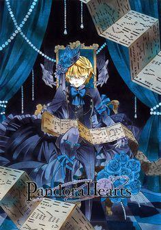 Oz Vessalius ❤️ Pandora Hearts : Original Artwork