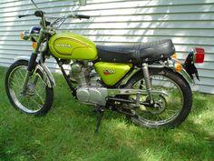 . 1972 honda CL100 frame. Lifan motor 200cc. 1971 honda