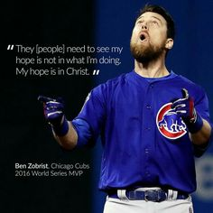 Many of you asked where to find more on the connection between Awana and Ben Zobrist of the Chicago Cubs, the 2016 World Series MVP. The answer is, from Ben Cubs Players, Baseball Players, Ben Zobrist, Chicago Cubs Baseball, Baseball Boys, Baseball Helmet, Cubs Win, Go Cubs Go, Baseball Quotes