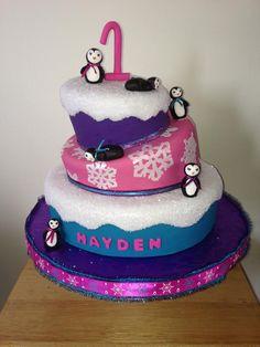 Penquin Winter Cake