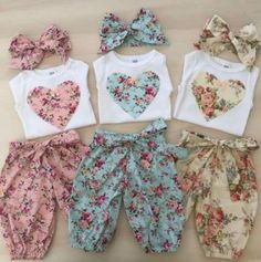 New baby onesies ideas sew ideas Dresses Kids Girl, Girl Outfits, Baby Girl Fashion, Fashion Kids, Womens Fashion, Baby Sewing, Sewing Baby Clothes, Kind Mode, Kids Wear