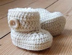 Image result for Free Crochet Baby Shoes Patterns