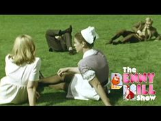 Benny Hill - Nurse Watching in the Park (1970) - YouTube