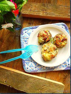 Μανιτάρια γεμιστά Veggies, Appetizers, Cooking, Breakfast, Blog, Recipes, Food Food, Kitchen, Morning Coffee