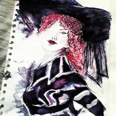 My attempt at fashion drawing