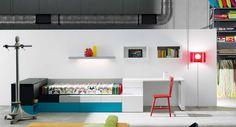 Life box 22. Habitación juvenil con sistema kubox