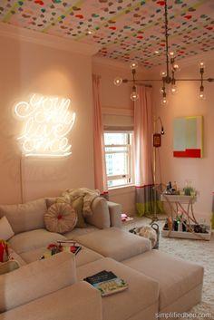 Teen Girls' Hangout Room