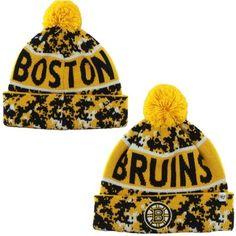 cb2b480cb5c Mens Boston Bruins  47 Brand Black Armory Digi Camo Knit Hat