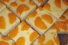 Blitz - Käsekuchen mit Mandarinen vom Blech 18 Easy Meals, Desserts, Recipes, Food, Facebook, Pies, Best Birthday Cakes, Sheet Metal, Food Food
