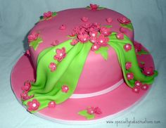 Awesome Birthday Cakes With Flowers