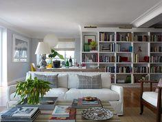 Book case as room divider...