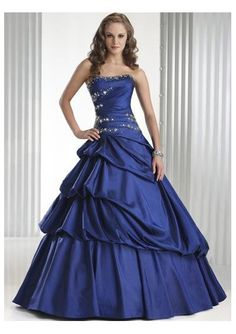 Taffeta Beaded Straight Neckline with A line Asymmetrical Pick up Floor Length Skirt 2010 New Hot Sell Prom Dress P-0040