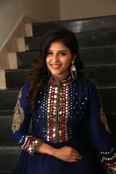 Anjali Stills From Chitrangada Movie Pre Release Function