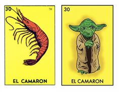 Star Wars + Mexican Loteria Cards = Space Loteria