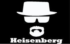 Heisenberg Vinyl Decal on Etsy, $4.49