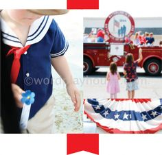 Ideas for sharing Memorial Day, the day's significance, and it's history with children.