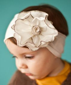 Darling floral headband!
