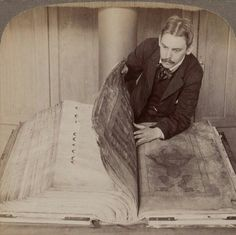 """The Codex Gigas is the largest medieval text still in existence. Created in the Czech Republic during the early century, the Codex Gigas is also known as the """"Devil's Bible"""" … Unexplained Pictures, Codex Gigas, Bizarre, Medieval Manuscript, Illuminated Manuscript, Lectures, Interesting History, World History, History Books"""