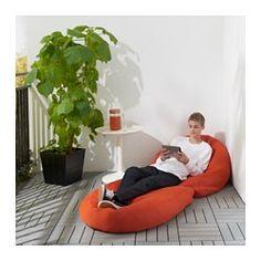 BUSSAN Fauteuil poire, intérieur/extérieur - IKEA