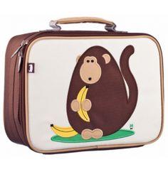 Beatrix New York Kids Lunch Box Dieter (Monkey) Kids Girls, Baby Kids, Baby Boy, Cute Lunch Boxes, School Lunch Box, School Bags, Insulated Lunch Box, Back To School Gifts, Kids Fashion Boy