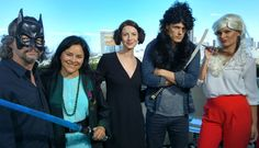 Use the Force from E! Takes On Comic-Con 2015  E! News' Kristin Dos Santos and the Outlander crew, including Sam Heughan and Caitriona Balfe, do their best Star Warsimpressions.