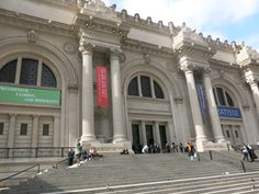 Loved visiting the MET in NYC. As a MASSIVE Gossip Girl fan, I couldn't resist snapping a photo of the steps!