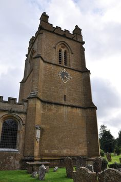Cotswolds Temple Guiting-001 St Mary Three-stage west tower C17 Gothic Survival, diagonal buttresses http://www.bwthornton.co.uk/visiting-stratford-upon-avon.php