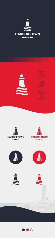 Logo for HARBOR TOWN INN on Behance