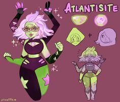 Atlantisite by pixelllls on DeviantArt Steven Universe Drawing, Steven Universe Gem, Cute Art, Krystal, Fan Art, Deviantart, Anime, Fictional Characters, Fandoms