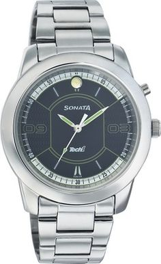30% Off on Sonata Tech 1 Analog Watch – For Men (Silver) only @ 826