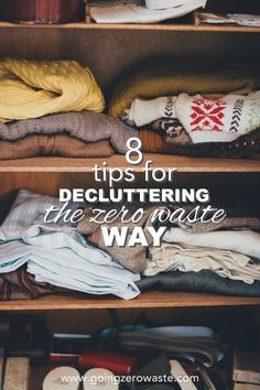 There's a belief that decluttering and zero waste stand in opposition to one another, but I firmly believe both principles to be very complementary. We are detached from the stuff we purchase and own. When we go zero waste, plastic free, or go down the path of minimalism, we experience a