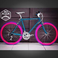 #Fixie #BicicletaDeRuta #CherryBoom #NoAzaraBikes Facebook/NoAzaraBikes  @No_Azara_Bikes