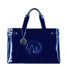Sac Armani Jeans Vernice Moyen / Bleu marine Sac Armani Jeans, Bleu Marine, Purses And Bags, Gym Bag, Handbags, Shopping, Fashion, Italian Fashion, Black People