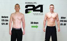 Herbalife: Herbalife 24, 30day results