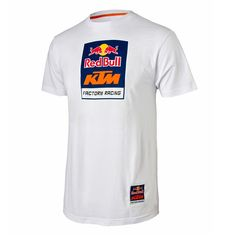 14f16d7cd66 Shop for Red Bull KTM Racing Logo Tee White at great prices at Babbitts  Online