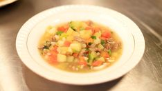Ei god suppe kan vere varmande for både kropp og sjel. Norwegian Cuisine, Cantaloupe, Food Porn, Food And Drink, Fruit, Ethnic Recipes, God, Dinners, Cilantro