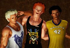 My Sims 3 Blog: UPDATED Link - Maxis Afro for Sims 3 by nextor_torres