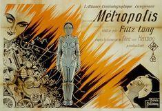 Metropolis Poster, Metropolis Fritz Lang, Metropolis 1927, Lany, Science Fiction, Sf Movies, Bagdad, Film Archive, Pop Culture Art
