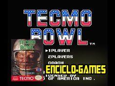 NES Gameplay #21 - Tecmo Bowl  (Nintendo classic mini)