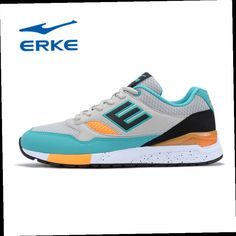 54.54$  Watch here - http://ali8to.worldwells.pw/go.php?t=32695996111 - Famous Brand ERKE Mens Mesh Sports Outdoor Running Shoes Sneakers For Men Wearable Breathable Running Shoes Sneaker Man Runners